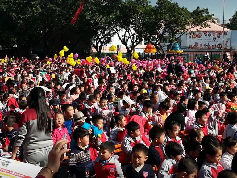Unterrichten in China