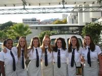 High School auf See: Schüler in Uniform