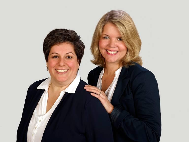 Verena Hanneken und Michaela Schaefer
