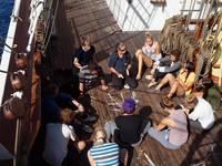 High School auf See: Unterricht auf Deck