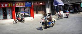Der chinesische Straßenverkehr