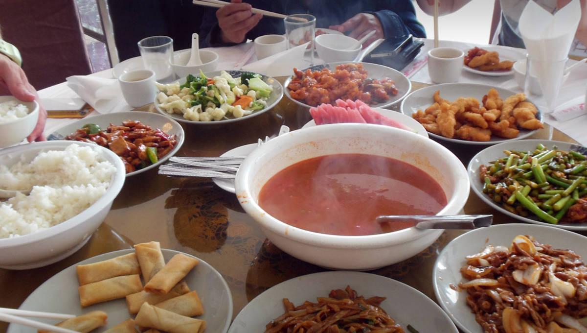 Chinesische Tischsitten