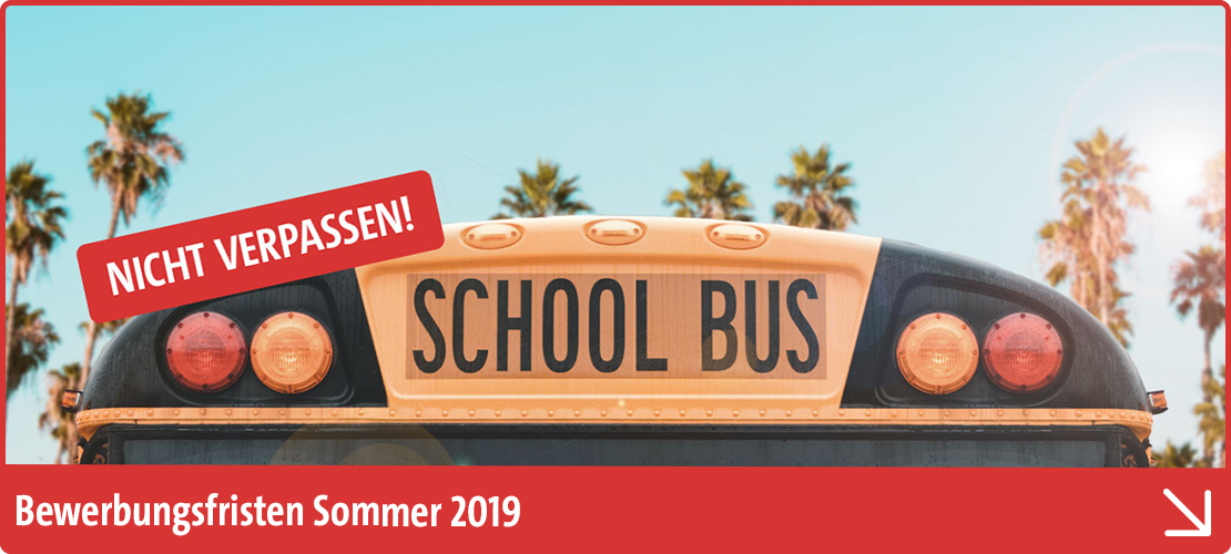 Dein Auslandsaufenthalt im Sommer 2019