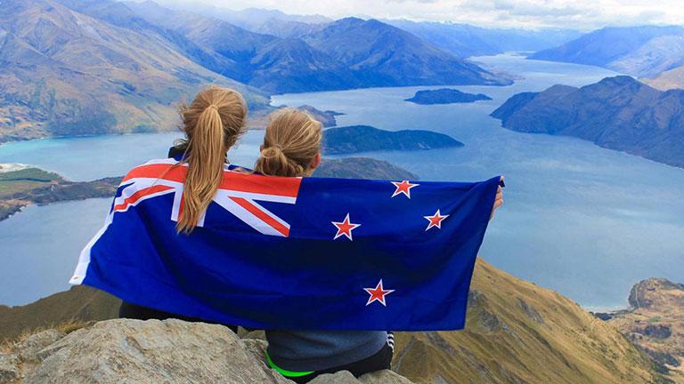 Stina in Neuseeland