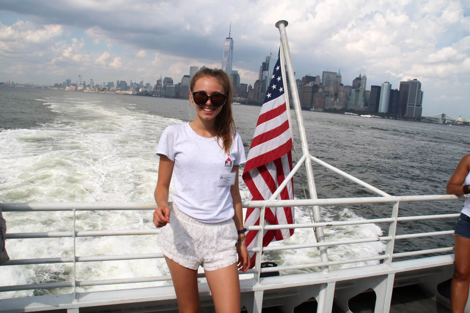 Anna-Valentina in den USA