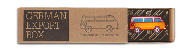 German Export Box - Motiv: Deutscher Transporter