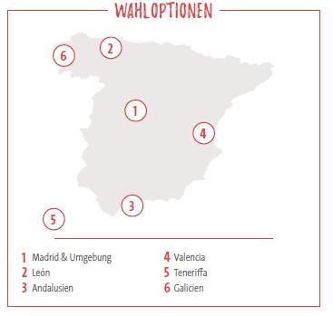 Wahloptionen High School Spanien Classic
