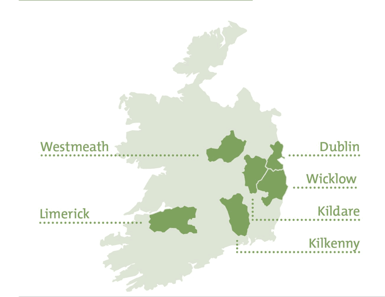High School Irland Select Wahlregionen