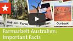 Farmarbeit Australien: Important Facts