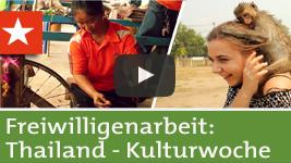Freiwilligenarbeit Thailand: Kulturwoche