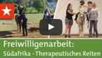 Freiwilligenarbeit Südafrika: Therapeutisches Reiten
