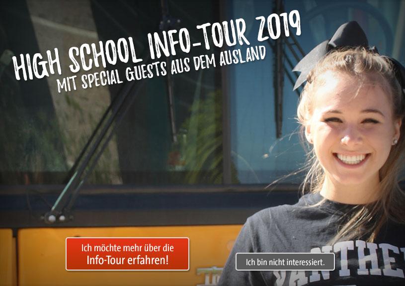 High School Info-Tour 2019