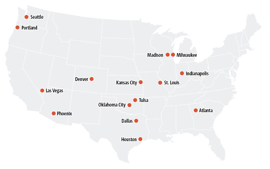 USA Metropolwahl (Sommer)