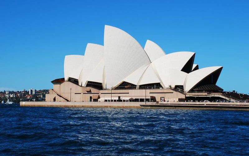 Die Sydney-Standardkulisse!
