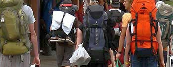 Backpacker in Australien