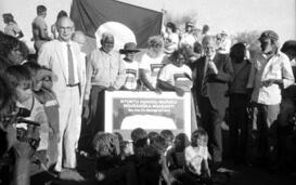 Landrückgabe-Zeremonie des Uluru