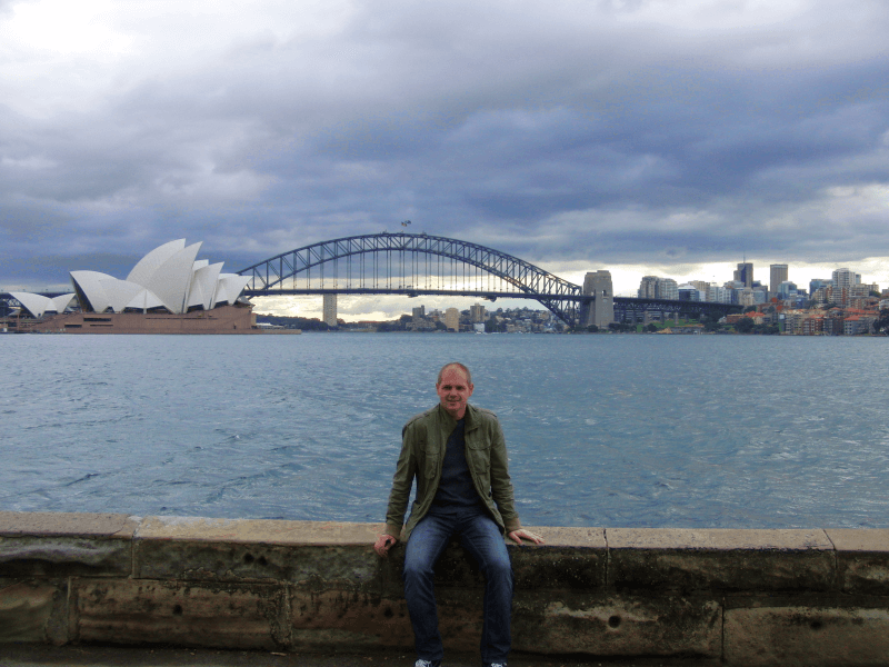 Sydney: BotanicGarden and Lady Macquarie's Chair