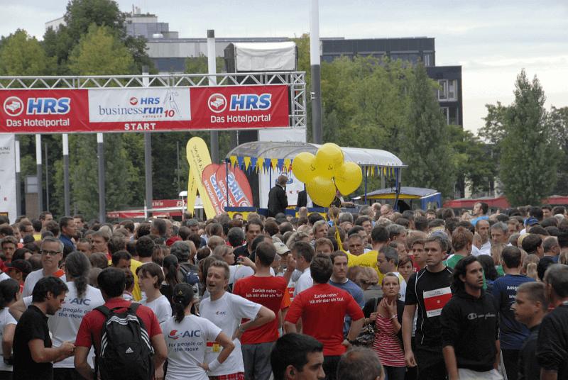 Stepin beim HRS BusinessRun Köln