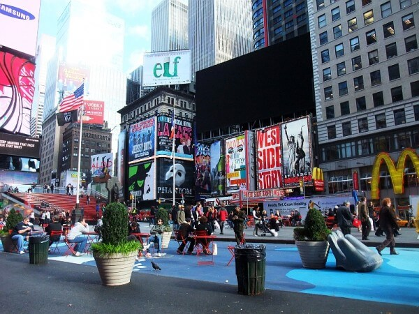 Weltneugier: Themenwoche New York - Times Square