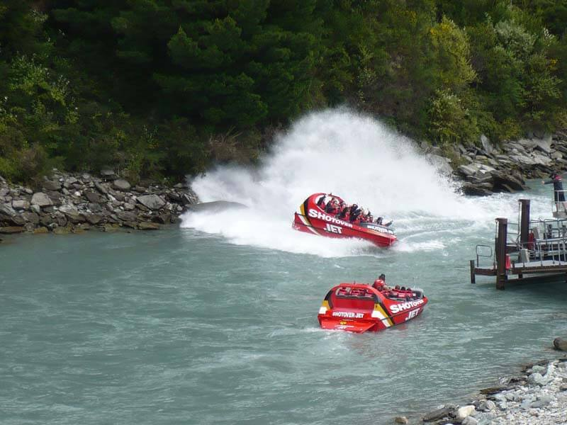 Jetboating in Queenstown