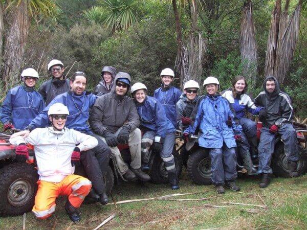 Das Team der Quad-Bikingtour