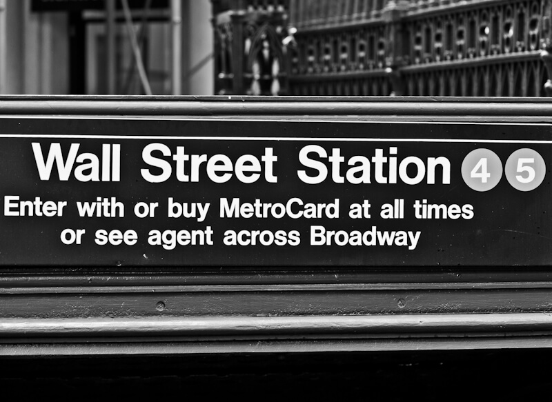 New Yorker Wall Street Station