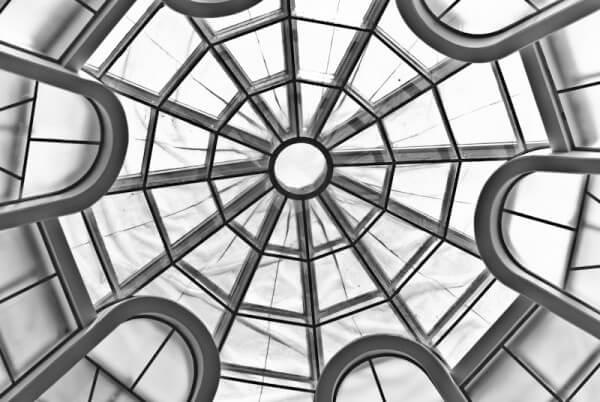 Die Kuppel des Guggenheim Museums in New York