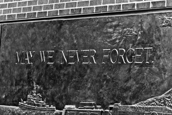 New York Denkmal am Ground Zero