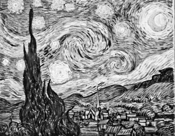Van Goghs »Sternennacht«