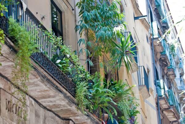Im Barri Gòtic von Barcelona
