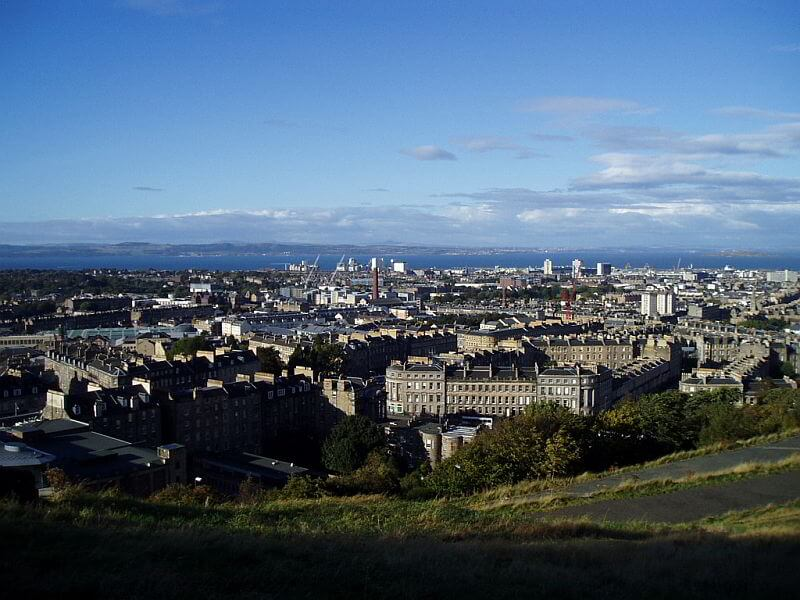 Edinburghs Calton Hill