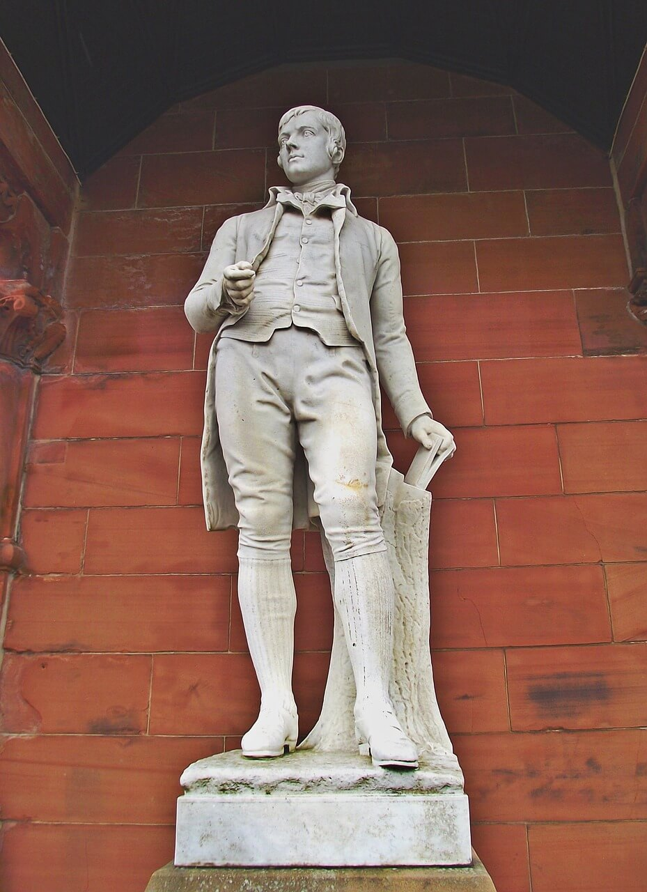 Robert Burns Statur