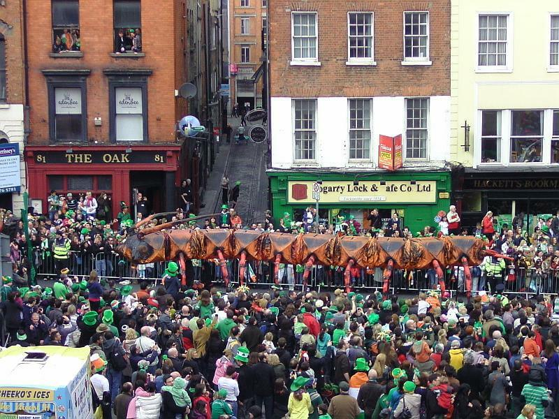 St.Patrick's Day Parade in Dublin