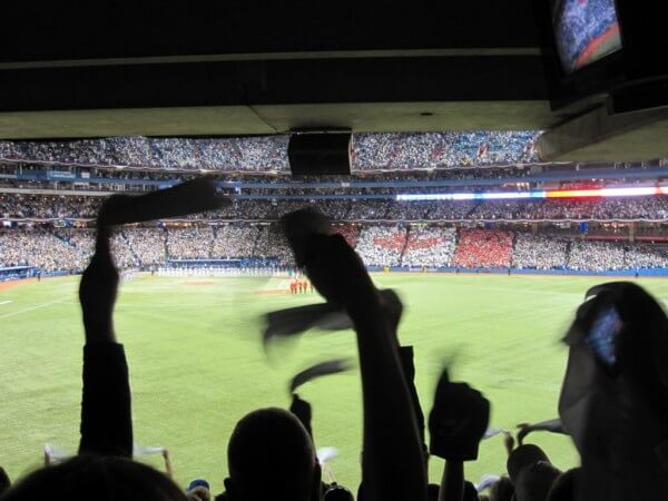 Blick ins Rogers Centre