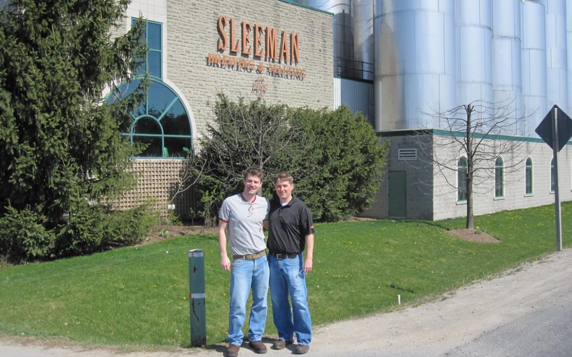 Markus in Kanada #5: Jobben in der Brauerei – Am Laufsteg für Flaschen