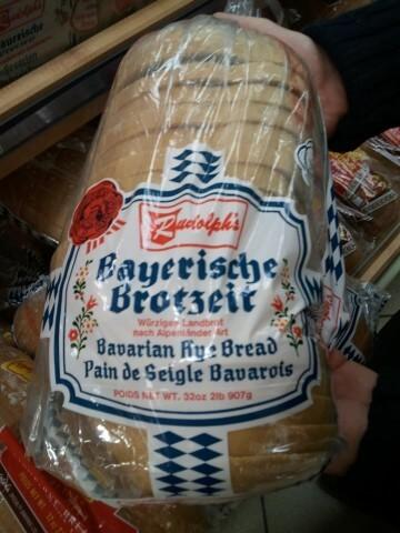 Bayerische Brotzeit in Kanada