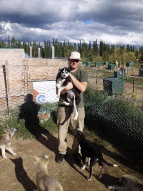 Freiwilligenarbeit Kanada - Huskyfarm - Diablo