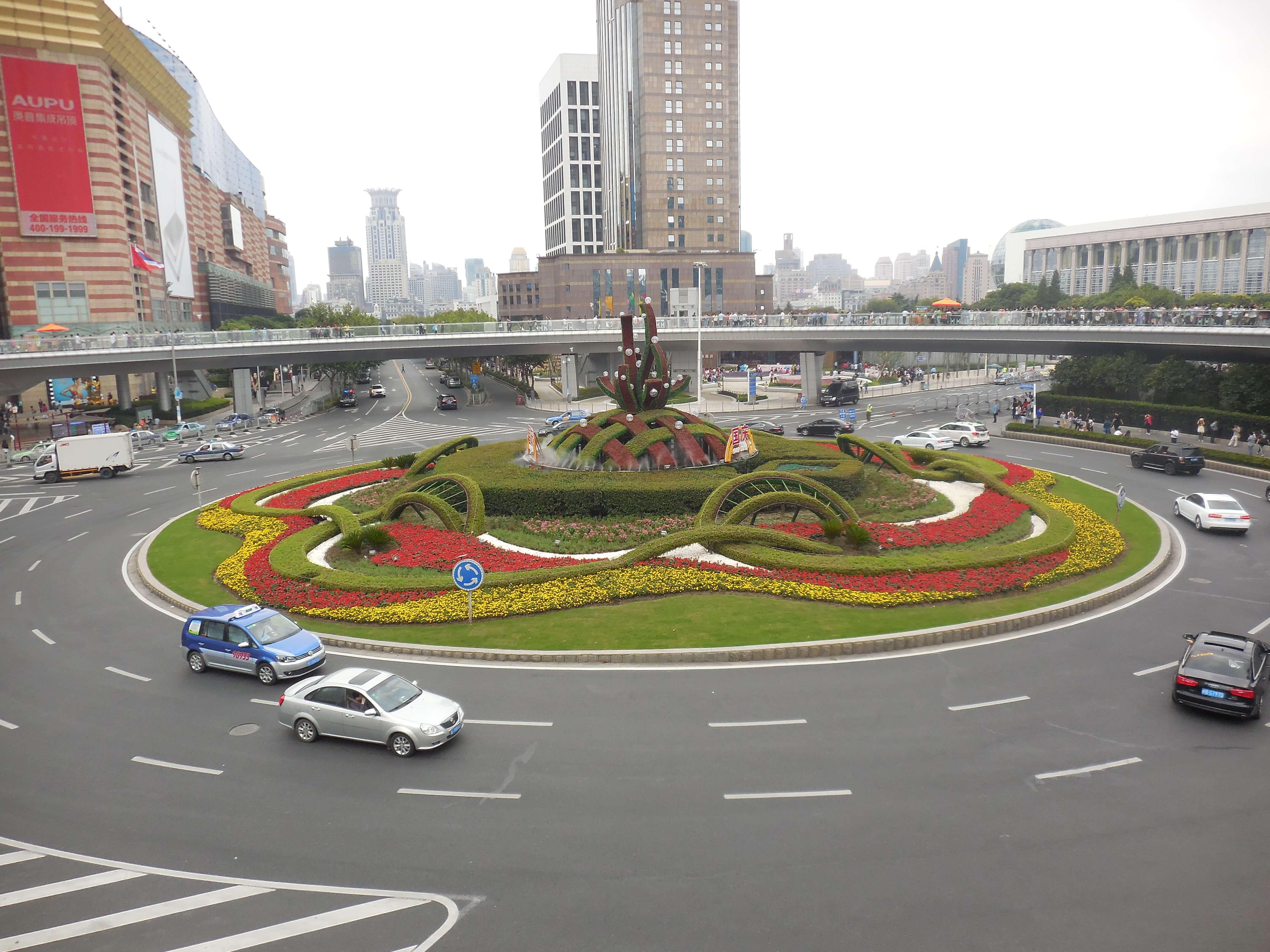 Verkehr in China sollte gelernt sein