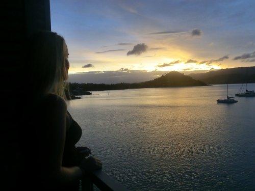 Melina vor Sydneys Küste