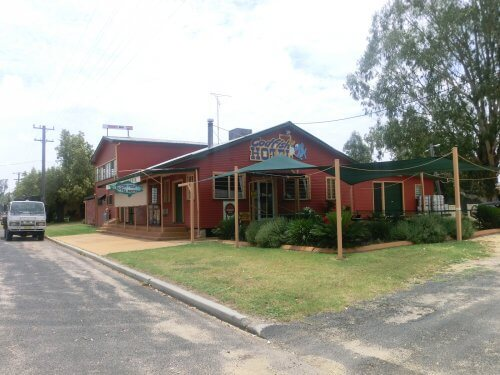 Der Pub, in dem Melina und Jenny gearbeitet haben