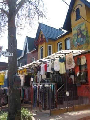 Gastartikelserie Kanada: Torontos Alternative - Ladenzeile