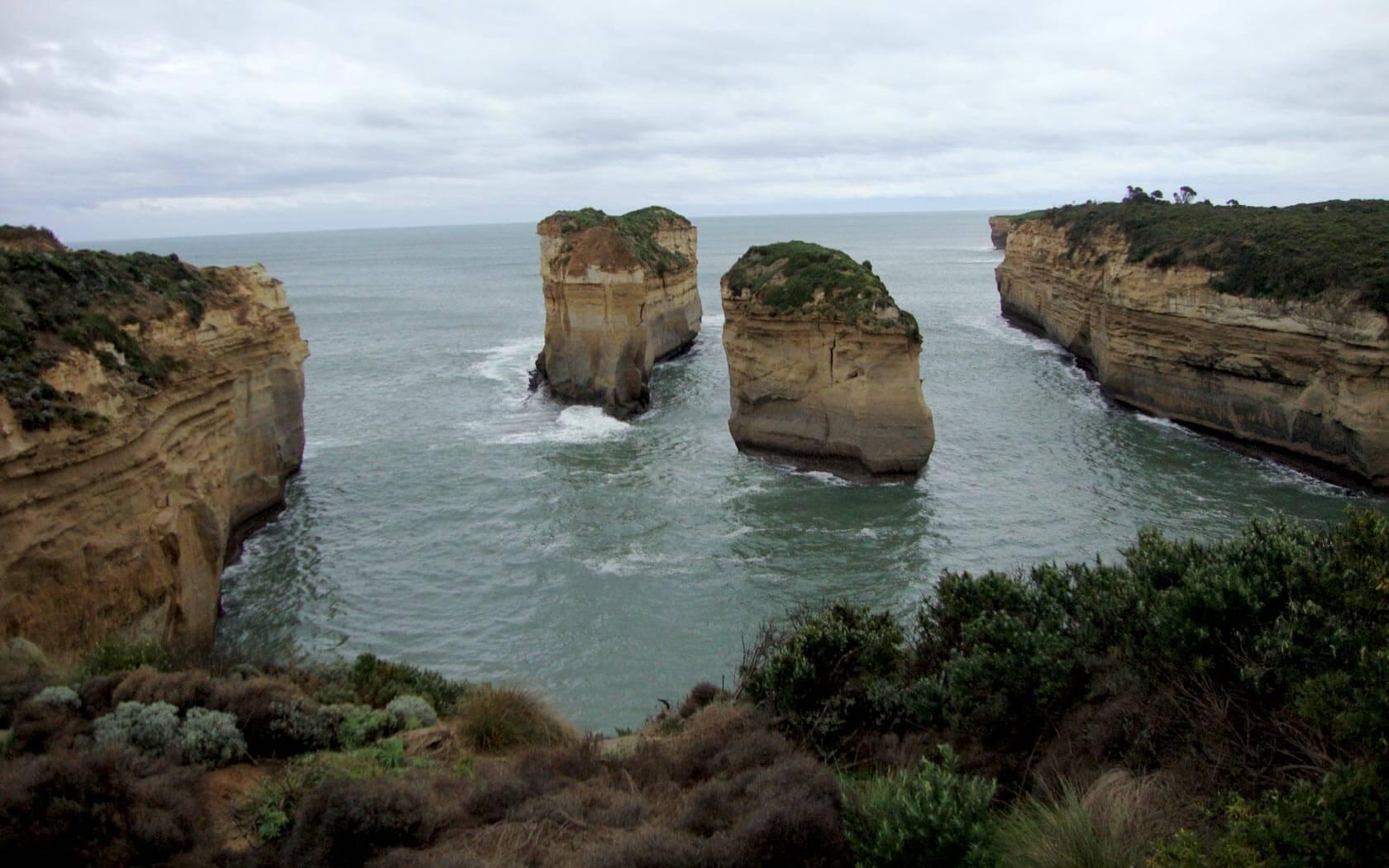 Felsenküste in Australien