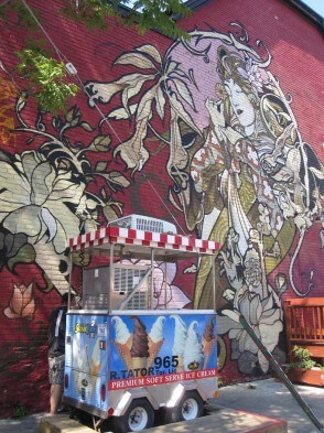 Gastartikelserie Kanada: Torontos Alternative - Wandmalerei