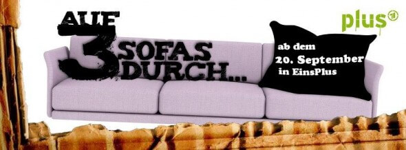 "Couch Surfing: Cover ""Auf 3 Sofas durch"""