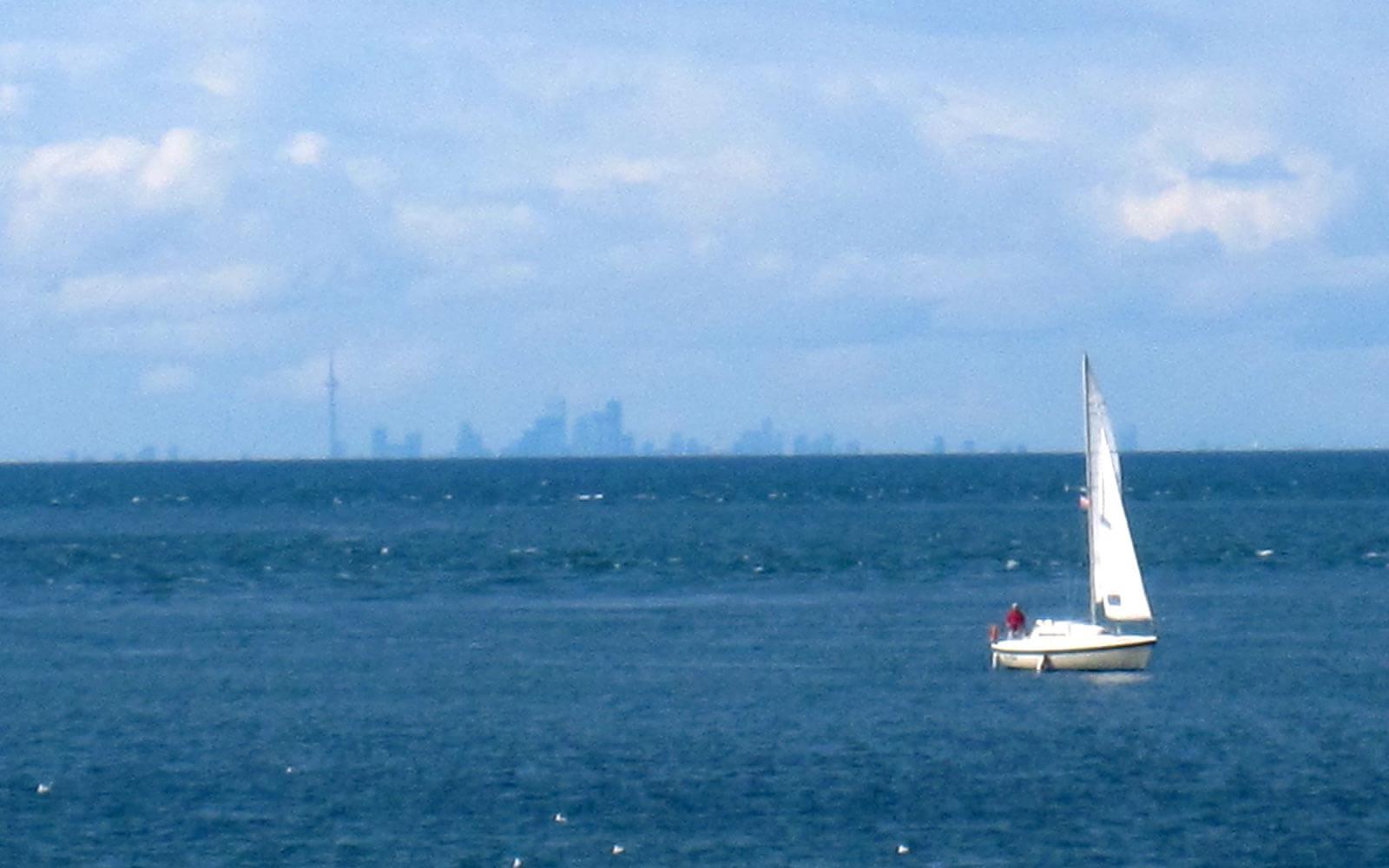 Ein Blick auf die Skyline von Toronto