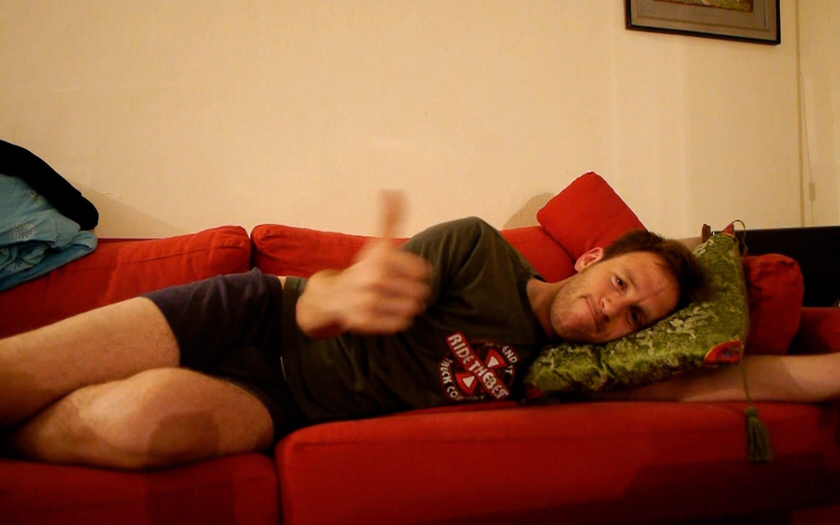 Couchsurfing: Thomas in Tel-Aviv