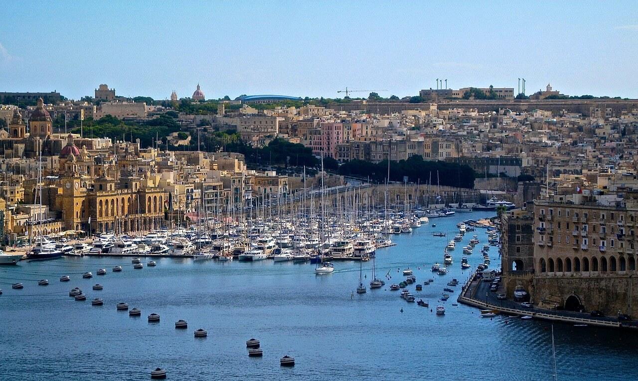 Der Hafen von Valetta