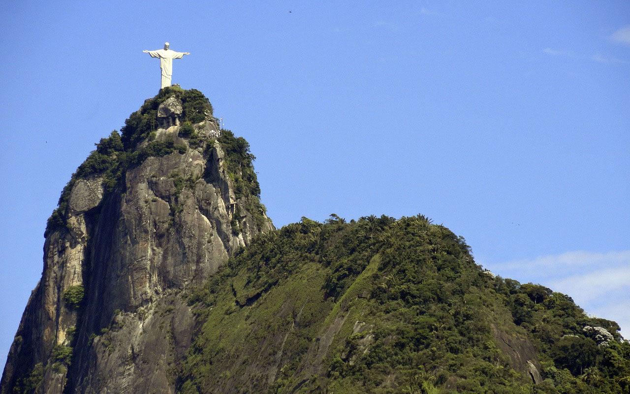 Die Statue Christo Redentor