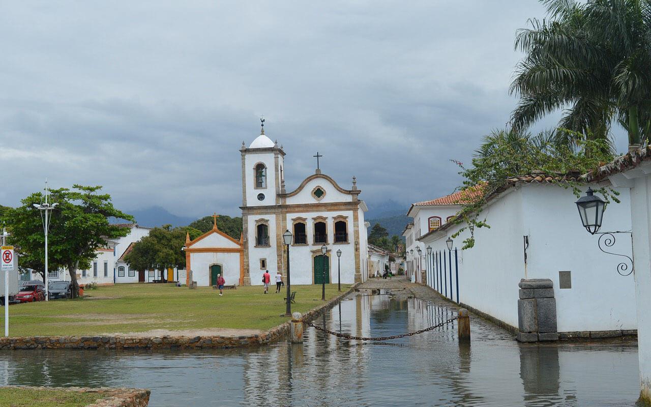 Die brasilianische Kleinstadt Parati