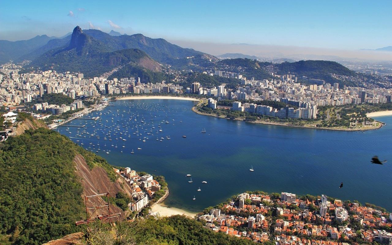 Blick auf Rios Zuckerhut